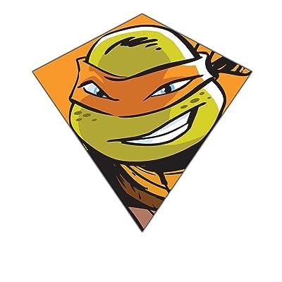 "Nickelodeon Teenage Mutant Ninja Turtles 23""-Wide Nylon Diamond Kite--""Michelangelo"": Toys & Games"