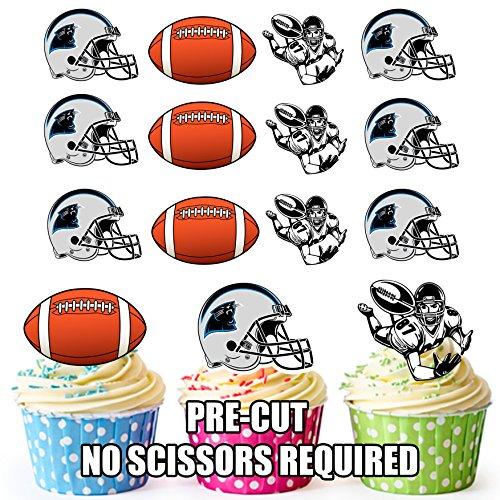 Carolina Panthers Edible Cake Decorations  from images-na.ssl-images-amazon.com