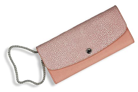 Michael Kors Monedero Juliana, Clutch, pale pink (Rosa ...
