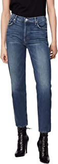 product image for The Saint Ankle - High-Rise Straight Leg Tomboy Jeans in Gutterpunk