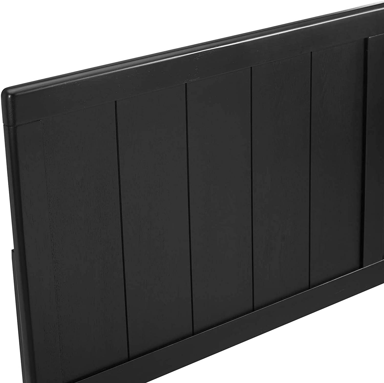 Modway Robbie Wood King Headboard in Black
