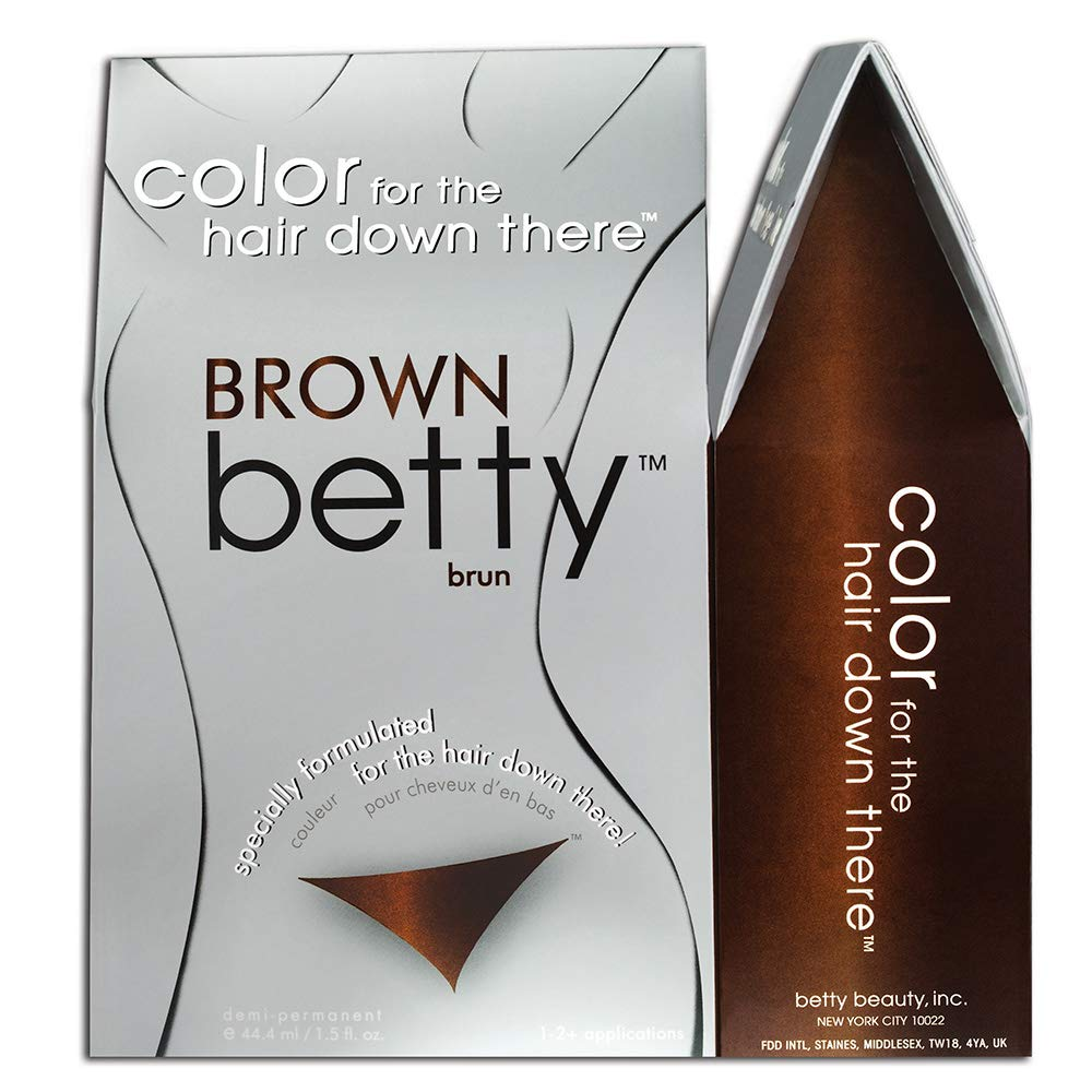 Brown Betty - Hair Color for the Hair Down There Kit by Betty Beauty
