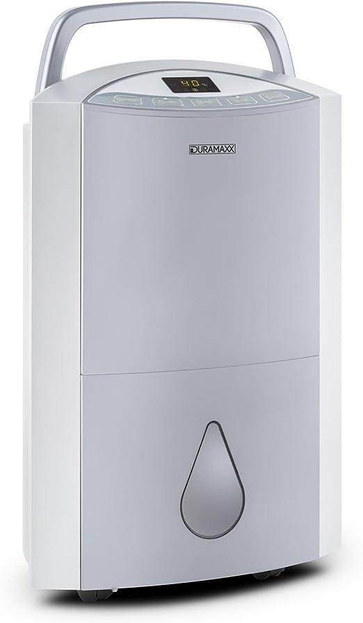 Duramaxx DryBest - Deshumidificador portátil 20 l/día (330W ...