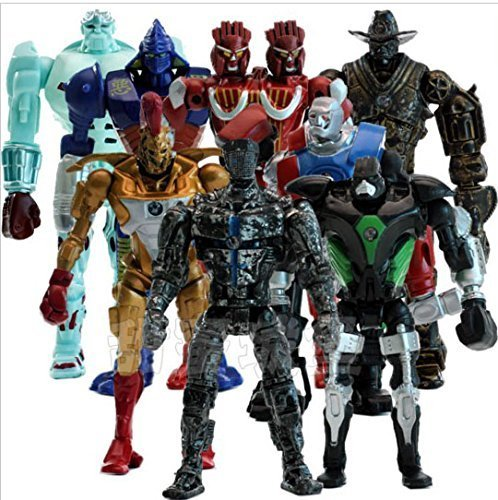 Real Action Doll - 8pcs/set Real Steel PVC Action Figures Collectible Model Dolls Toys Kids Gifts KT477