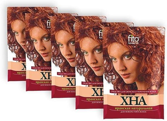 5 Color de pelo Henna pelo natural color coloration pelo ...