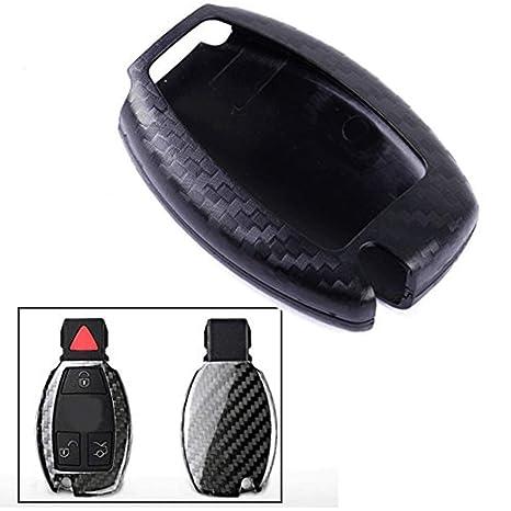 FUAN - Carcasa de plástico para Llave de Control Remoto Inteligente, Compatible con Mercedes Benz