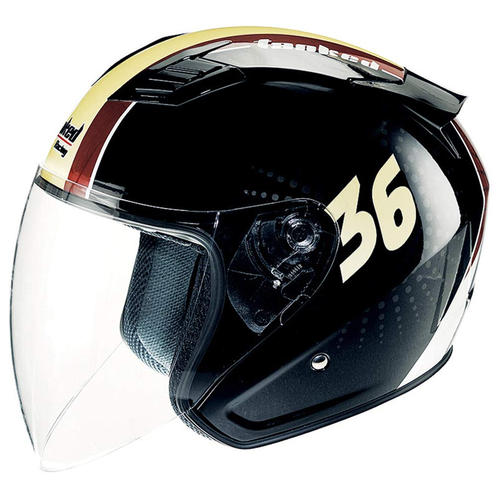 Qianliuk T-536 Tank Motorrad Motorrad-Helm Vier Jahreszeiten Universal Half Cap Antifogging Motocross-Helme 53-63cm