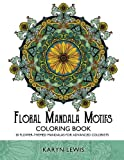 Floral Mandala Motifs Coloring Book: 30 Flower-Themed Mandalas for Advanced Colorists (Coloring Motifs) (Volume 3)