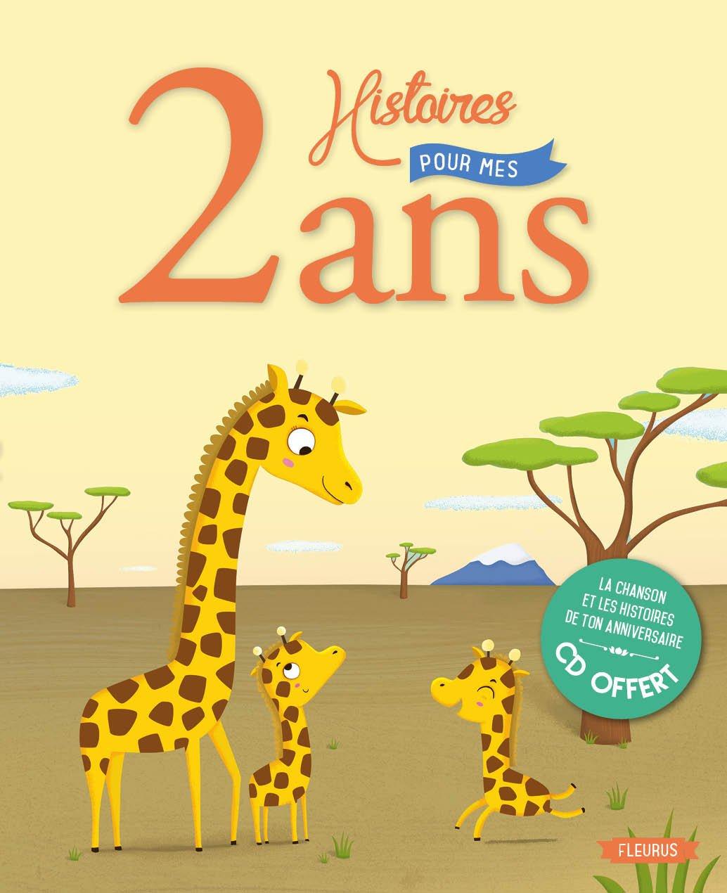 Amazon Fr 2 Histoires Pour Mes 2 Ans Cd Collectif Livres