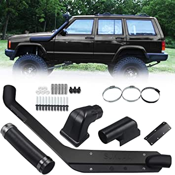 Amazon Com Anbull Compatible With Jeep Cherokee Xj Snorkel Kit Replacement For Jeep Cherokee Xj 1984 2001 Petrol