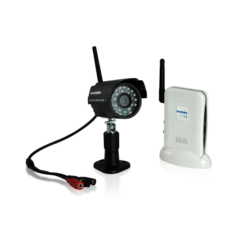 Amazon.com : Securityman DigioutAir Digital Wireless Outdoor/Indoor ...