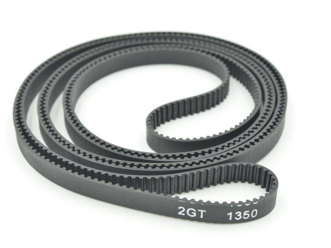 POWGE GT2 Timing Belt L=1350mm W6=6mm 675 Teeth Color Black Pack in Closed Loop Of 10pcs Ningbo Jiangbei Powge Transmission Component Co. Ltd