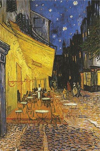 Terrasse De Cafe La Nuit Cafe Terrace At Night Von Vincent Van