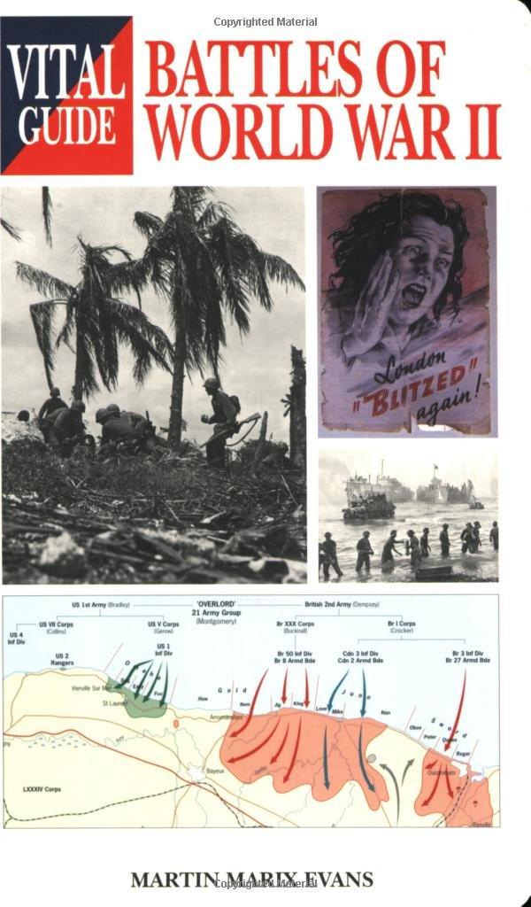 Download Battles of World War 2 (Vital Guide) pdf epub