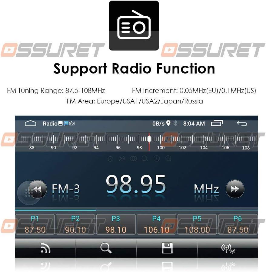 grau Android 10 Auto GPS Navigation Fit f/ür OPEL Vauxhall Holden Antara//Combo//Zafira//Tigra TwinTop-Unterst/ützung Lenkradsteuerung Bluetooth-FM-Radio mit Spiegelverbindung