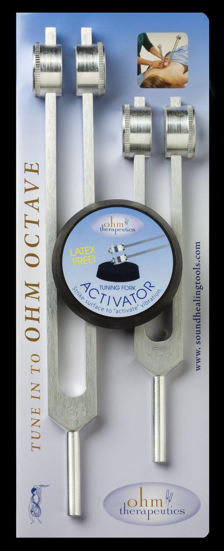 Tuning Fork - Ohm Octave Set - 136.1 & 68.05 hz