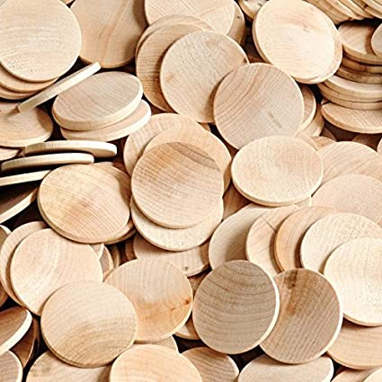 500 Wooden Circles 1 12 Diameter X 18 Thick By Woodpeckers