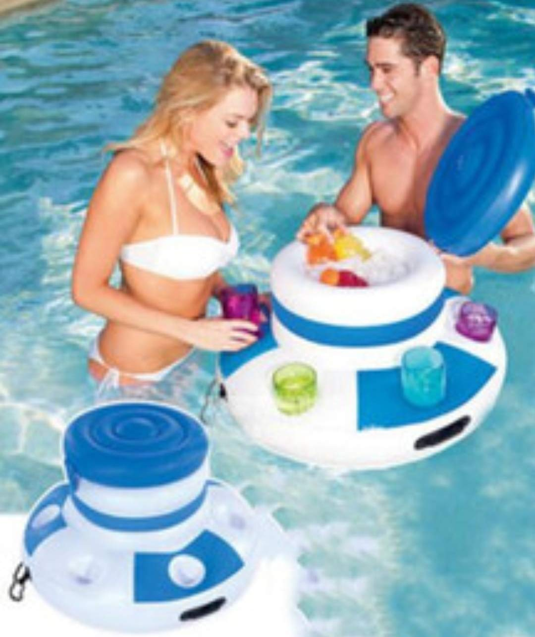 Amazon.com: cubeta de hielo de inflable piscina inflable ...