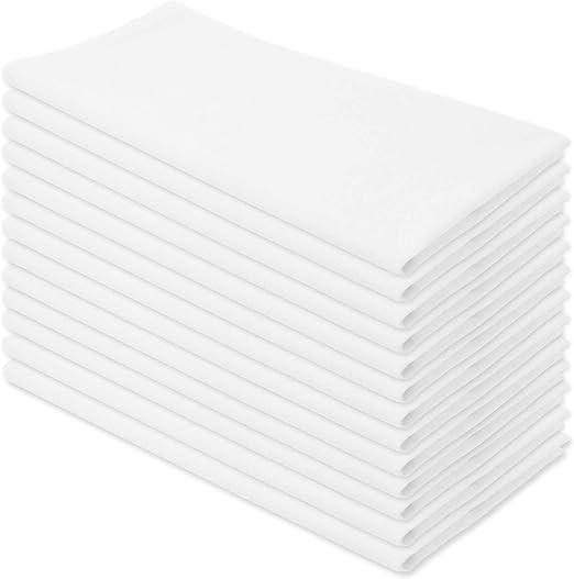 Aunti Em/'s Kitchen Dish Towels Flour Sack Vintage Design 6 count