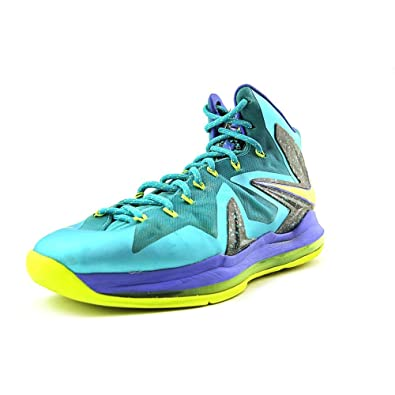 909896bc51a3 NIKE Lebron X P.S. Elite Mens Basketball Shoes 579827-300 Sport Turquoise  8.5 M US