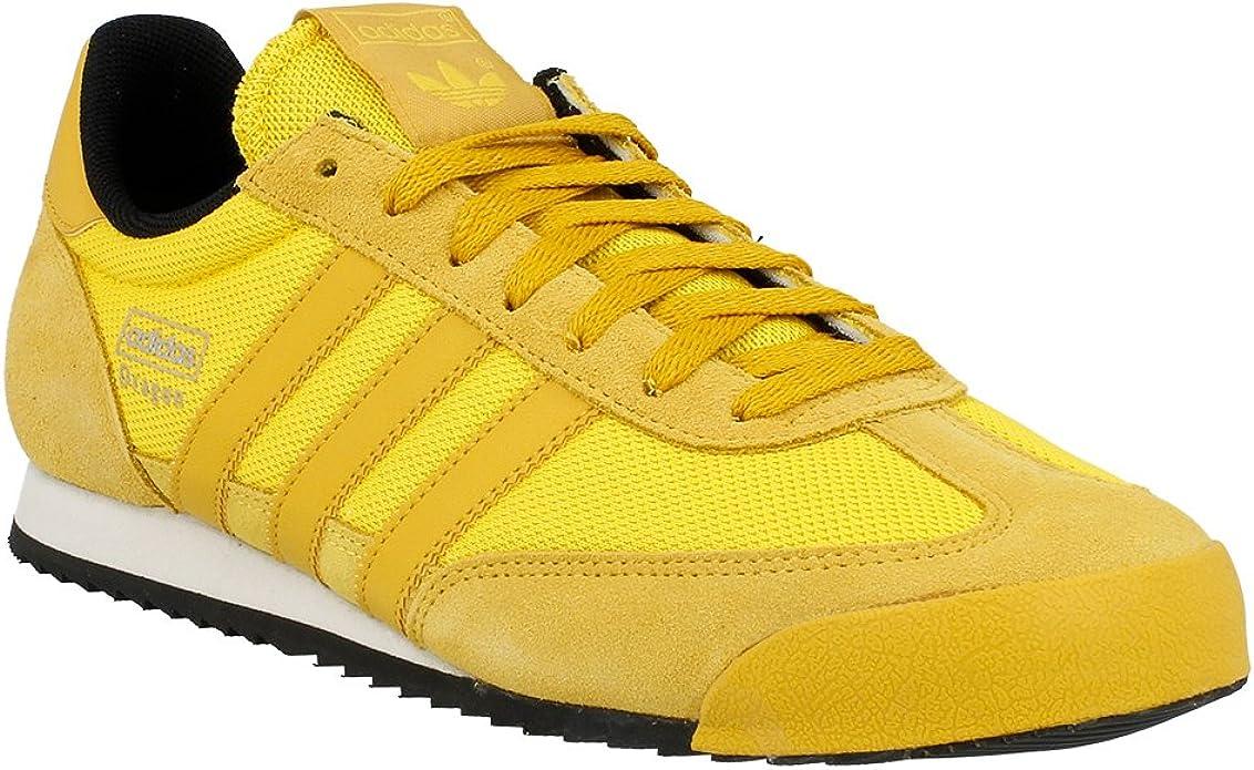 Agrícola Mercurio borde  adidas - Zapatos de Cordones de Material Sintético para Hombre Amarillo  Amarillo, Color Amarillo, Talla 42: Amazon.es: Zapatos y complementos