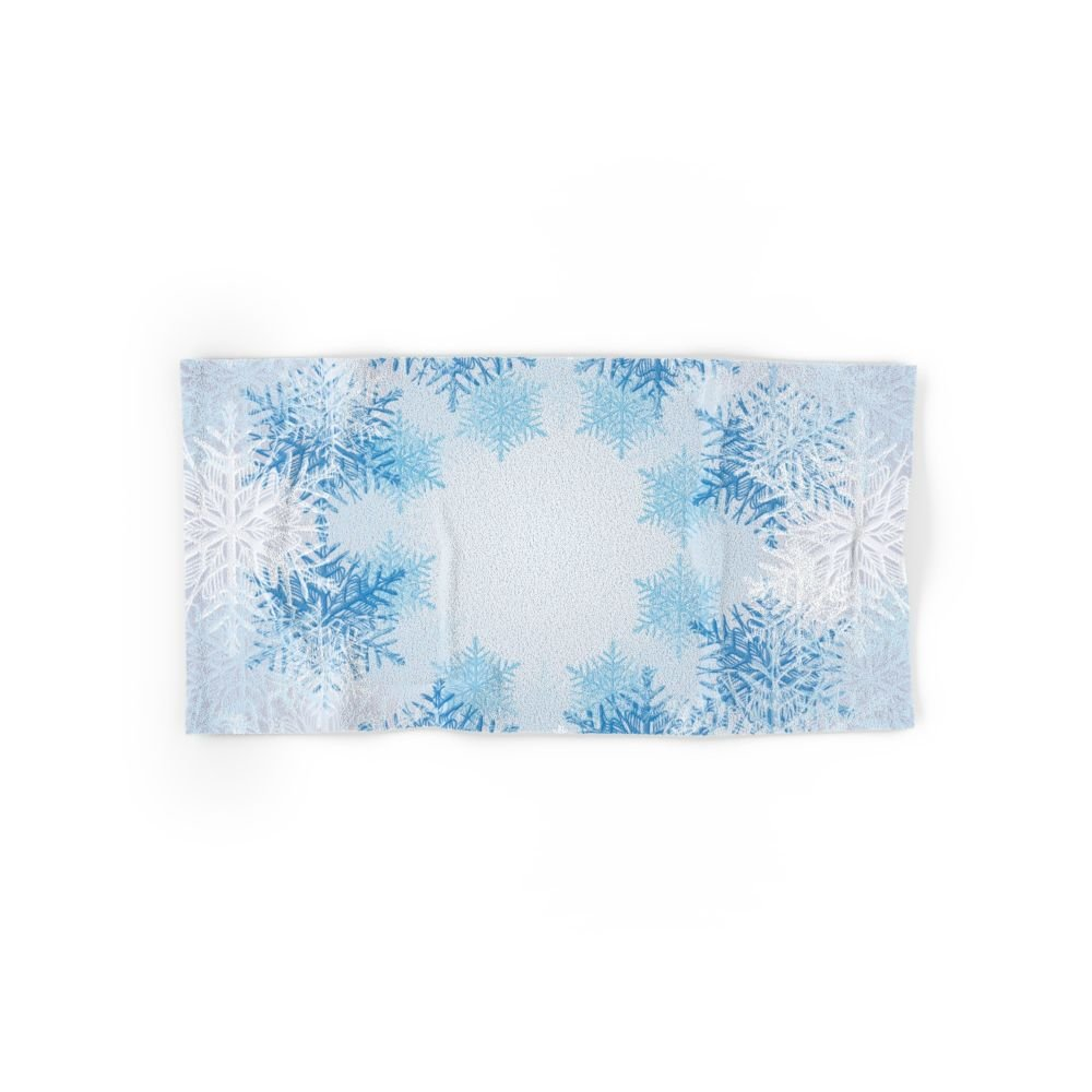 Society6 Frost On The Window Hand Towel 30''x15''