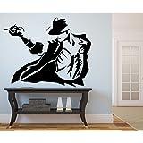 DECOR Kafe Home Decor Michael Jackson Wall Sticker, Wall Sticker For  Bedroom, Wall Art Part 61