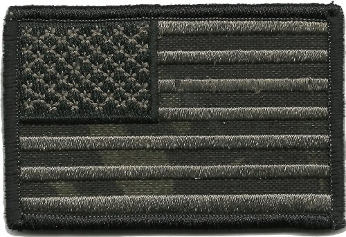 MULTICAM BLACK Tactical Patch - 2x3 USA