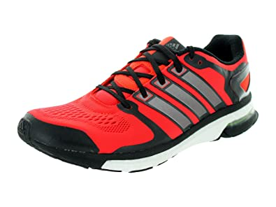 brand new 1ea07 a65ee adidas Men s B26735 Adistar Boost ESM Shoes, Red Black Sliver, 7.5