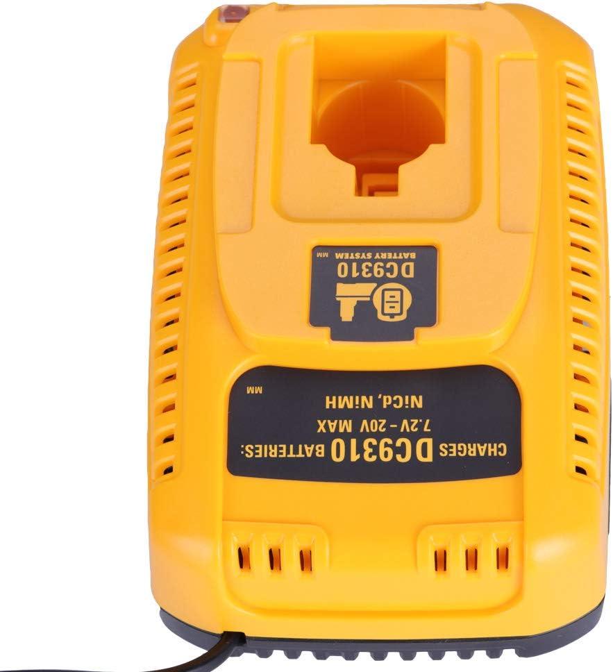 New Charger for Dewalt DC9310 7.2V-18V NI-CD NI-MH Battery DC9096 DC9071 DW9062