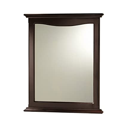 Gentil Foremost PAEM2531 Palermo Espresso Bathroom Mirror