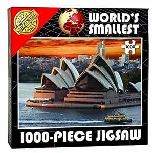 Cheatwell Games 13947 - World's Smallest puzzle de 1000 piezas, diseño Ópera de Sydney