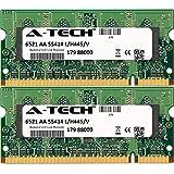 4GB KIT (2 x 2GB) For Dell Latitude Series 5400 5500 6400 6500 ATG E6400 D830 E5400 E5500 E6400 E6400 ATG E6400 XFR E6500. SO-DIMM DDR2 NON-ECC PC2-6400 800MHz RAM Memory. Genuine A-Tech Brand.
