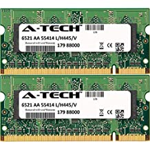4GB KIT (2 x 2GB) For HP-Compaq Presario Notebook Series CQ60-413NR CQ60-417DX CQ60-417NR CQ60-418DX CQ60-419AU CQ60-419WM CQ60-420AU CQ60-420SA CQ60-420US CQ60-421NR CQ60-422DX CQ60-423DX CQ60-427NR CQ60-430SA CQ60-433US CQ60-514NR CQ60-615DX CQ60Z CQ61 CQ61 (CNF001CD59) CQ61-100EE CQ61-100EO CQ61-100EP CQ61-100ES CQ61-100EW CQ61-100SD CQ61-100SL CQ61-100SO CQ61-100SP CQ61-101ET CQ61-101TU CQ61-101TX. SO-DIMM DDR2 NON-ECC PC2-6400 800MHz RAM Memory. Genuine A-Tech Brand.