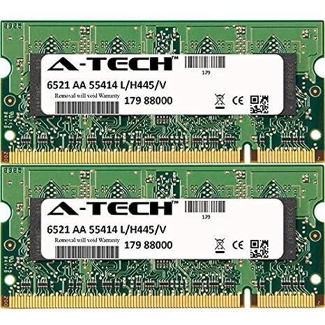 4GB KIT 2X 2GB HP Compaq 6000 Notebook HP 6250s 6510b 6515b 6515s 6520s 6530b 6710b ...