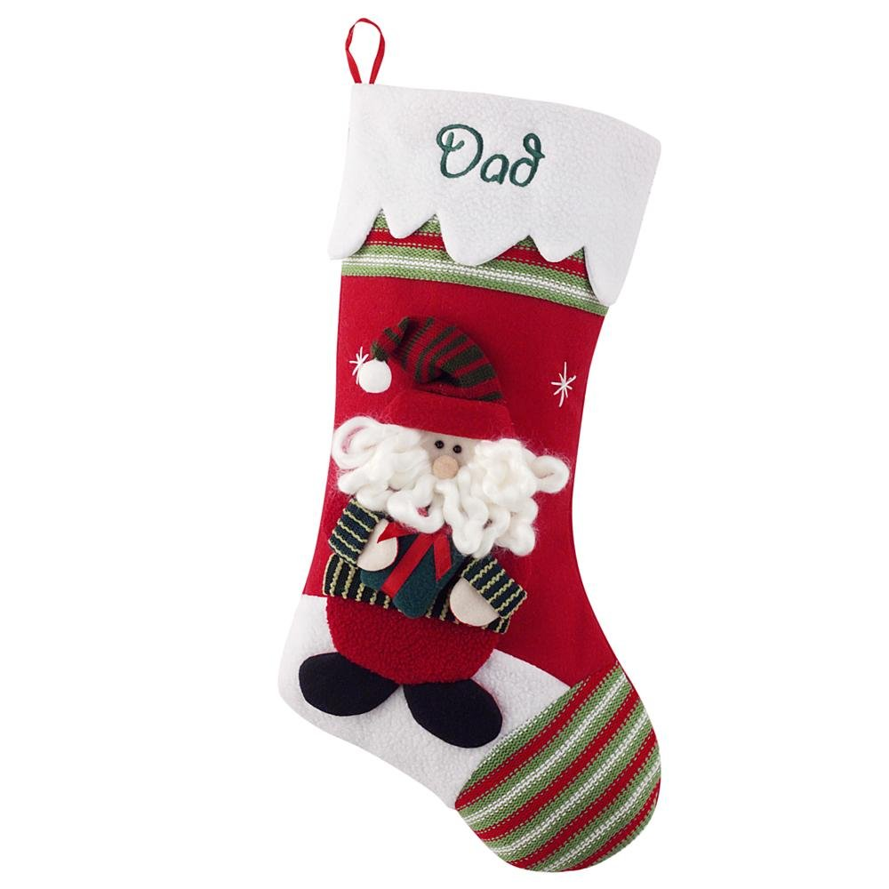 Personal Creations - Personalized Gifts Winter Wonderland Stocking - Santa