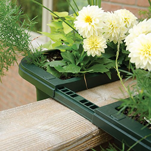 Amazon.com : Apollo Adjustable Railing Planter, Double-Sided (Terra Cotta,  16 inches) : Patio, Lawn & Garden - Amazon.com : Apollo Adjustable Railing Planter, Double-Sided