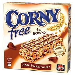 Corny Sugar Free Chocolate Muesli Bar