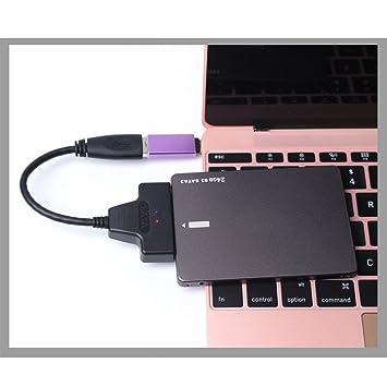 USB 3.0 a SATA Cable Adaptador Disco Duro Externo 22 Pines SATA ...