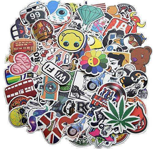 Skateboard Sticker Set, Stickers For Teens, 100 PCS ()