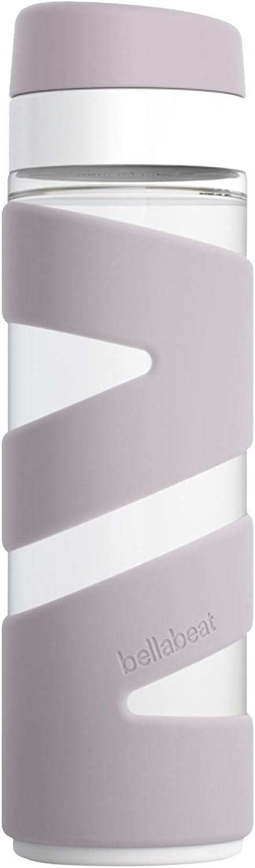 Bellabeat Botella de agua inteligente para mujer con rastreador de hidratación compatible con iPhone/Android - Violet Ice SB-10SP-VI-01
