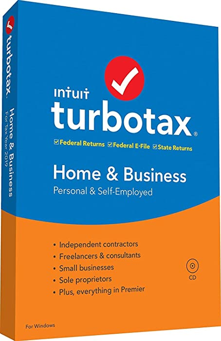 Top 10 Turbo Tax 2017 Home And Business Pc