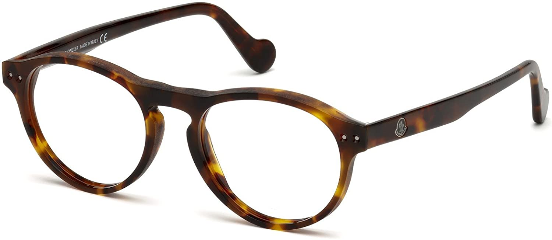 8428a9da47 Eyeglasses Moncler ML 5022 052 dark havana at Amazon Men s Clothing store