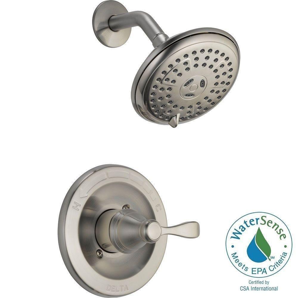 Delta 142984 Bn A Porter Single Handle Shower Faucet Set T13020 Parts List And Diagram Ereplacementparts Com