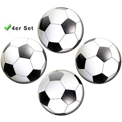 Guma Magneticum Brilliant football-magnets conjunto de 4 ...