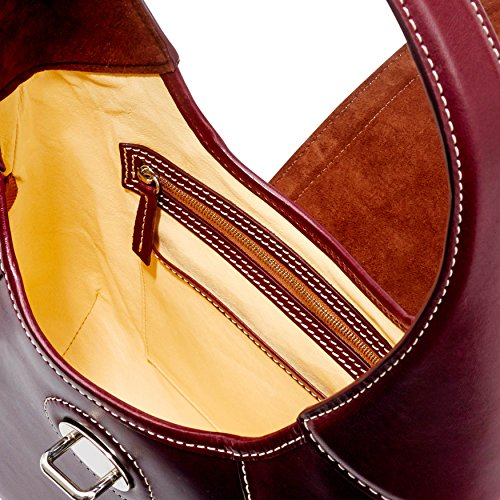 Shoulder Bourke Front amp; Florentine Stitch Bag Dooney Bordeaux Hobo Toscana 5w0vqSSH