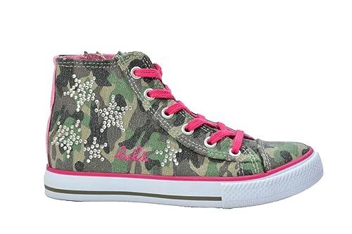 Scarpe Lulu' Bambina Sneakers Militare 29Amazon it Glitter Bambino htsdQr