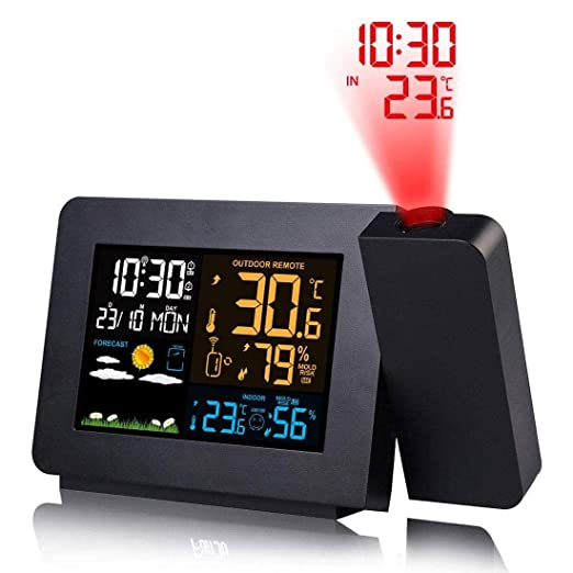 Despertador Proyector,Despertador Reloj Digital de Proyección ...
