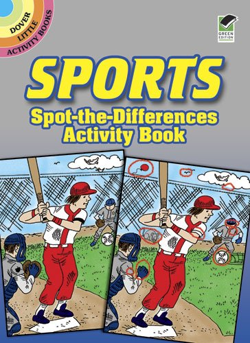 Download Sports Spot-the-Differences Activity Book (Dover Little Activity Books) pdf epub