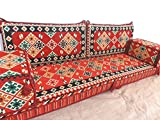 furniture,oriental seating,arabic floor seating,arabic sofa,sofa set,floor couch,floor cushions,arabic jalsa,majlis,hookah bar decor - MA 40